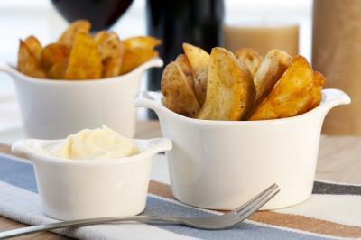 Salsa brava de mayonesa: